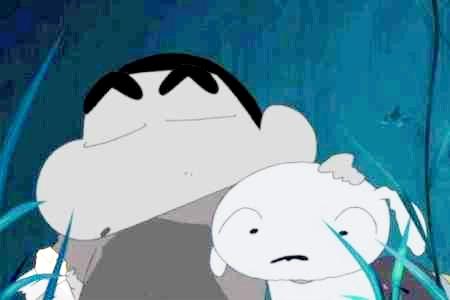 クレヨンしんちゃんとシロ